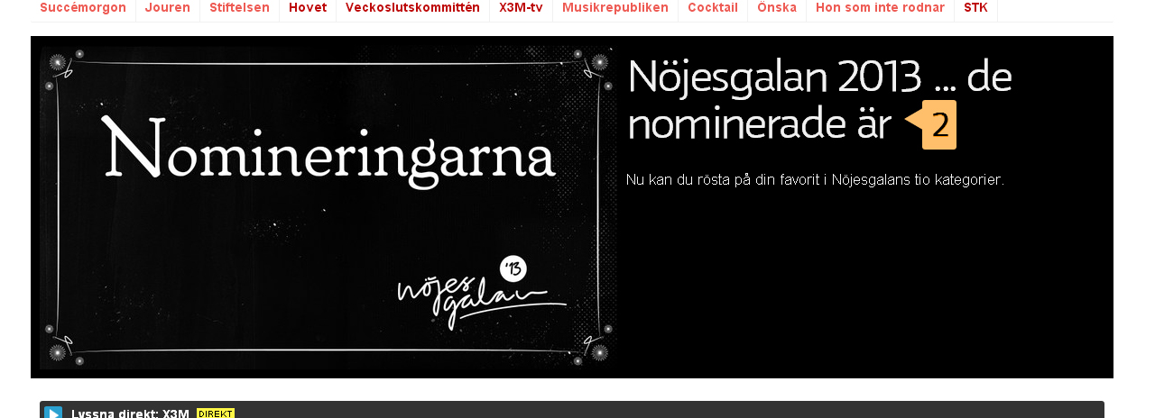 nomineringar